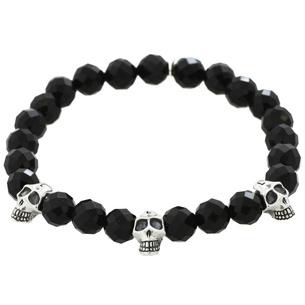 Onyx Skull/Men's