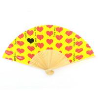 Yellow Heart 扇子 | 1