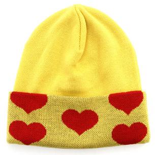 Yellow Heart ニットキャップ