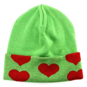 Green Heart ニットキャップ