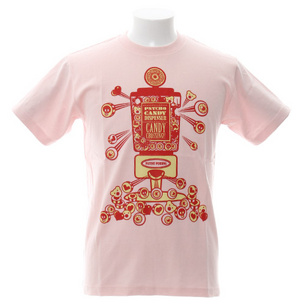 PSYCHO CANDY Tシャツ   ライトピンク