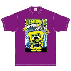 Space Commander P.B Tシャツ[TOKYO ver.] | パープル