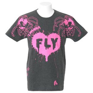 LEMONeD×HYPERCORE コラボTシャツ【FLY】 | ダークグレイ