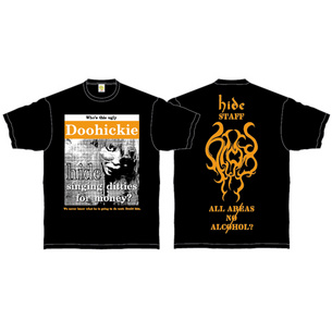 Doohickie Tシャツ | ブラック×オレンジ
