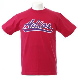 Adios Tシャツ | ピンク