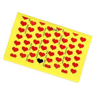 通帳ケース/Yellow Heart