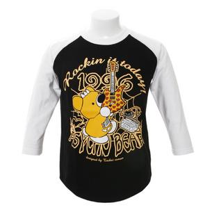 7分袖Tシャツ/Rockin it today! | ブラック/ホワイト