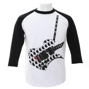 7分袖Tシャツ/Fake Guitar