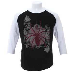 7分袖Tシャツ/spider