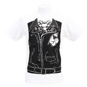 Tシャツ/Fake Riders Jacket | ホワイト