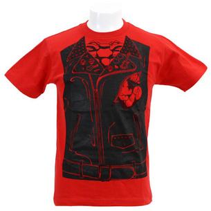 Tシャツ/Fake Riders Jacket | レッド