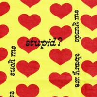 Yellow Heart バスタオル | 2