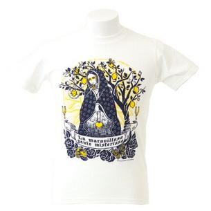 Tシャツ/La maravillosa gente misteriosa | ホワイト