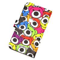 iPhoneカバー手帳型M/Colorful P.B. | 2