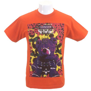 Psychobear Tシャツ | オレンジ