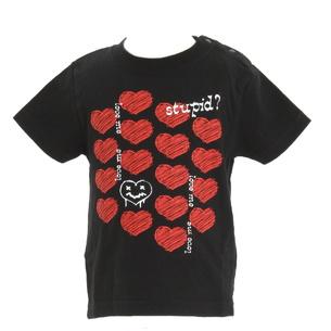 ベビー半袖Tシャツ | ブラック