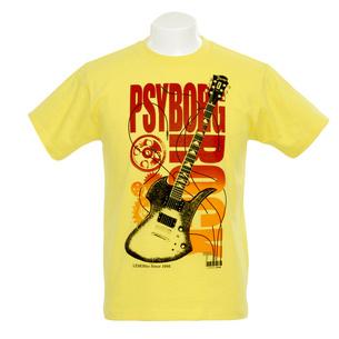 PSYBORG ROCK Tシャツ | イエロー