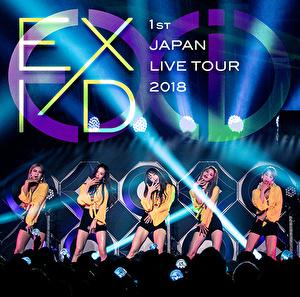 EXID 1st JAPAN LIVE TOUR 2018(通常盤)