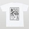 石ノ森章太郎生誕80周年記念デザインTシャツ(004)【水色のリボン】