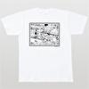 石ノ森章太郎生誕80周年記念デザインTシャツ(034)【佐武と市捕物控(A)】