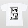 石ノ森章太郎生誕80周年記念デザインTシャツ(080)【八百八町表裏 化粧師】