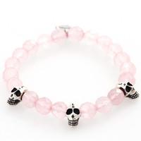 Rose quartz Skull | 1