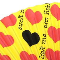 Yellow Heart 扇子 | 2