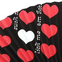 Black Heart 扇子 | 2
