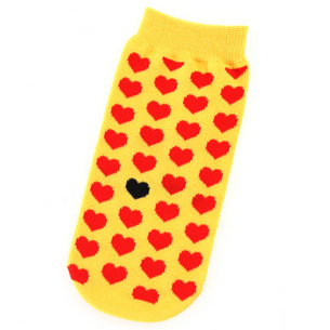 Yellow Heart ペットボトルカバー | イエロー