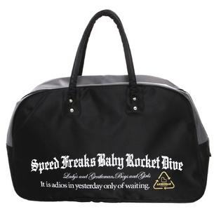 レモネードラインマジソンバッグ | ブラック×イエロー