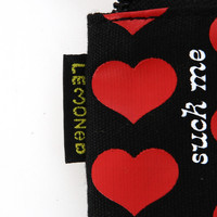 Black Heart  ファスナーケース | 2