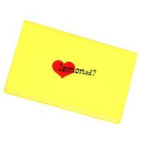 通帳ケース/Yellow Heart | 2