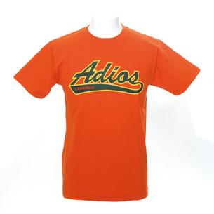 Adios Tシャツ | オレンジ