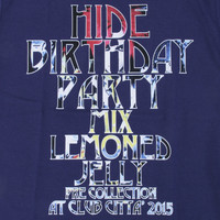 【hide Birthday Party 2015】Tシャツ1 | 3