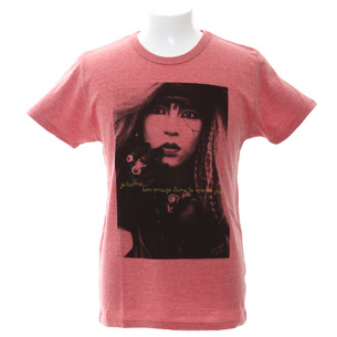 【X JAPAN ツアーグッズ】hide Tシャツ1 | レッド