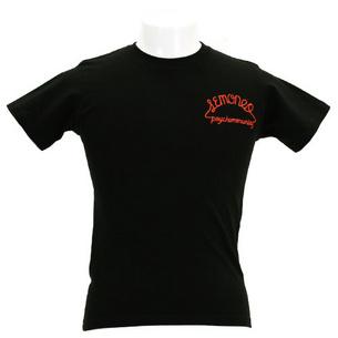 Tシャツ/LEMONed MEX SKULL | ブラック×レッド