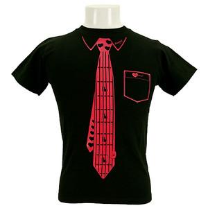 Tシャツ/Fake Necktie
