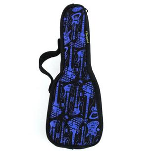 ファスナーポーチ/Guitar case | ブルー