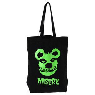 MISERY トートバッグ | ブラック×グリーン