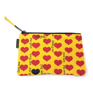 Yellow Heart ファスナーケース