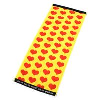 ジャガード フェイスタオル/Yellow Heart | 2