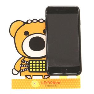 スマートフォンスタンド/PSYCHO BEAR | オレンジ