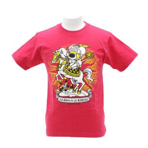 Tシャツ/LA MANCHA | ホットピンク