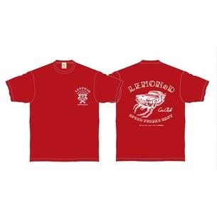 "L.C.C. Round1'KUJIRA""Tシャツ | バーガンディ"