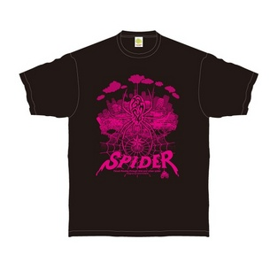 URBAN SPIDER Tシャツ | ブラック×ピンク