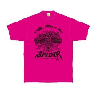 URBAN SPIDER Tシャツ | ピンク×ブラック