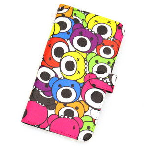 iPhoneカバー手帳型L/Colorful P.B.