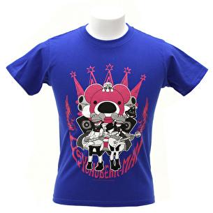 Tシャツ/PSYCHOBEAR-MAN | ロイヤルブルー
