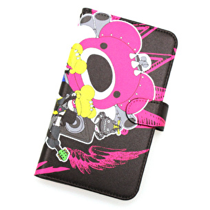 iphoneカバー手帳型M/PSYCHOBEAR-MAN