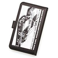iphoneカバー手帳型L/KUJIRA RACING   2